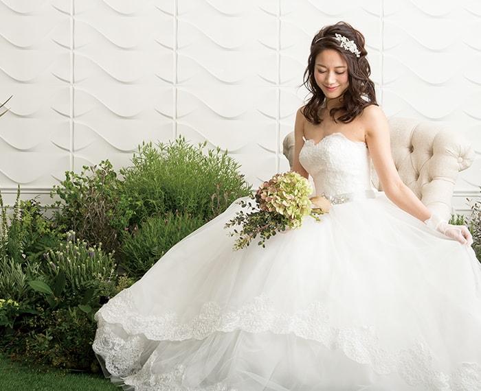 憧れの花嫁スタイル ドレス試着会 倉吉シティホテル ウェディング 来
